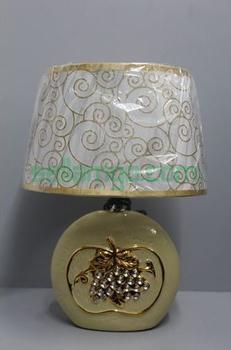 Lampe de Table Raisins Beige